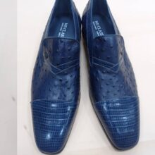 MS Classic Men Shoes - Blue