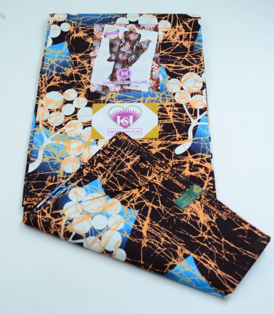 Conclusive Holland Wax Atampa Fabrics, African Ankara And Wrapper Super Conclusive Holland