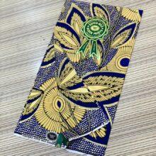 Embellished Gold Wax Atampa 6yrds
